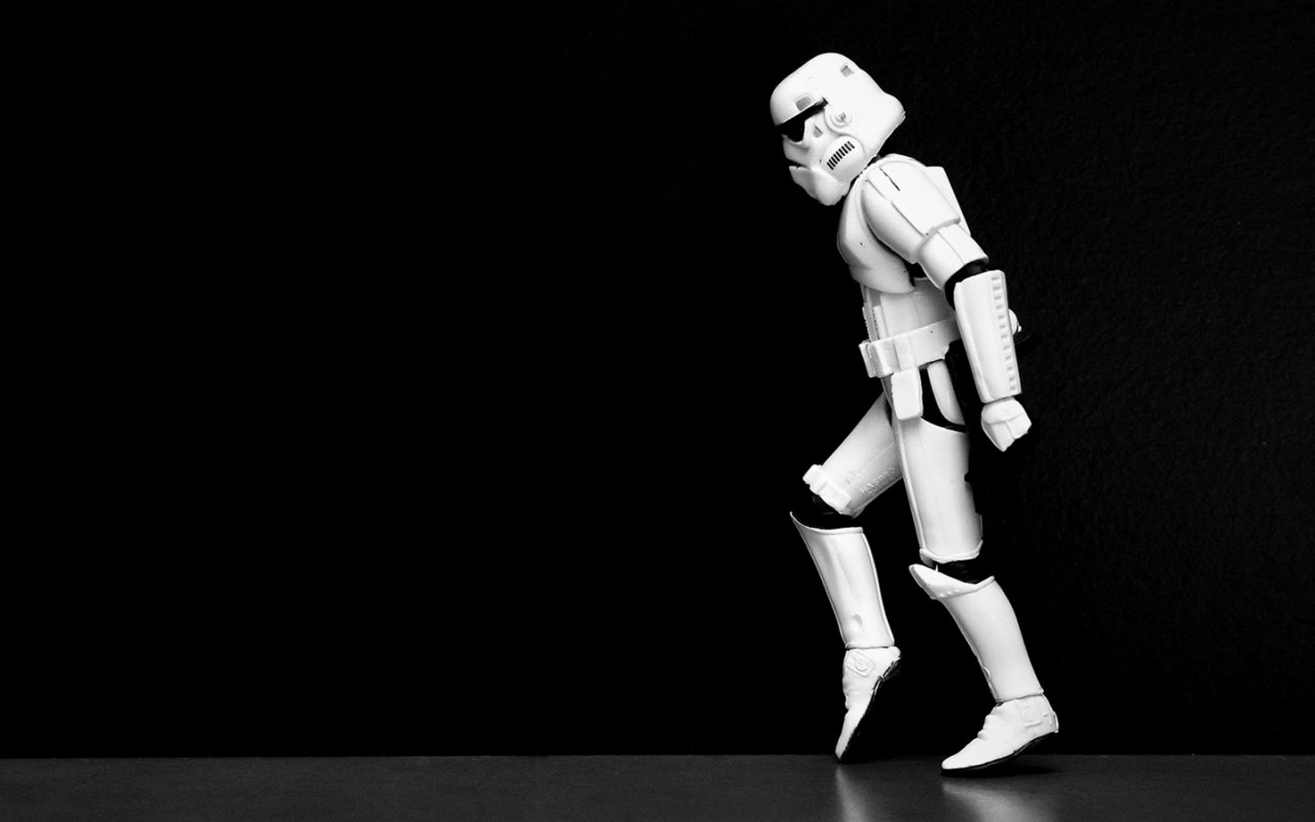 Moonwalking Stormtrooper