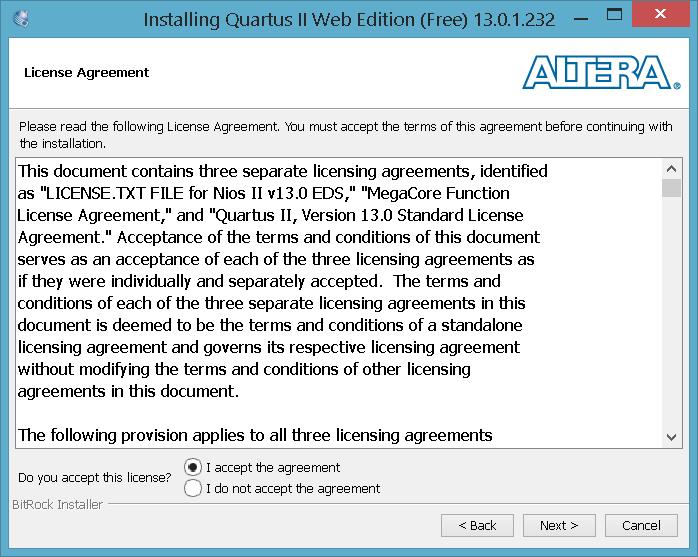 Download e Instalação do Quartus II no Windows 8 1 – Blog do Palhão