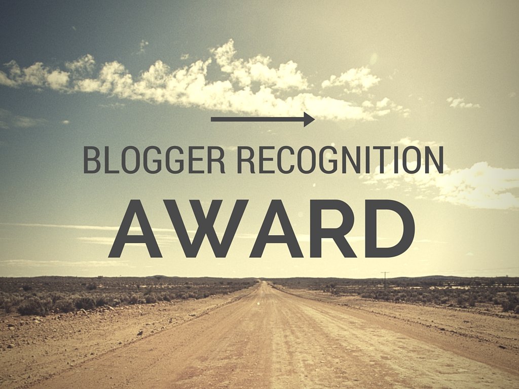 Blog Recognition Award