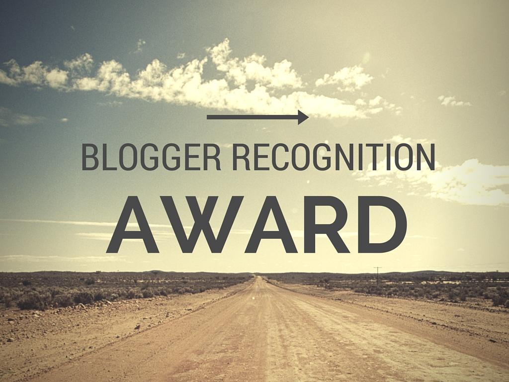 Blog Recognition Award