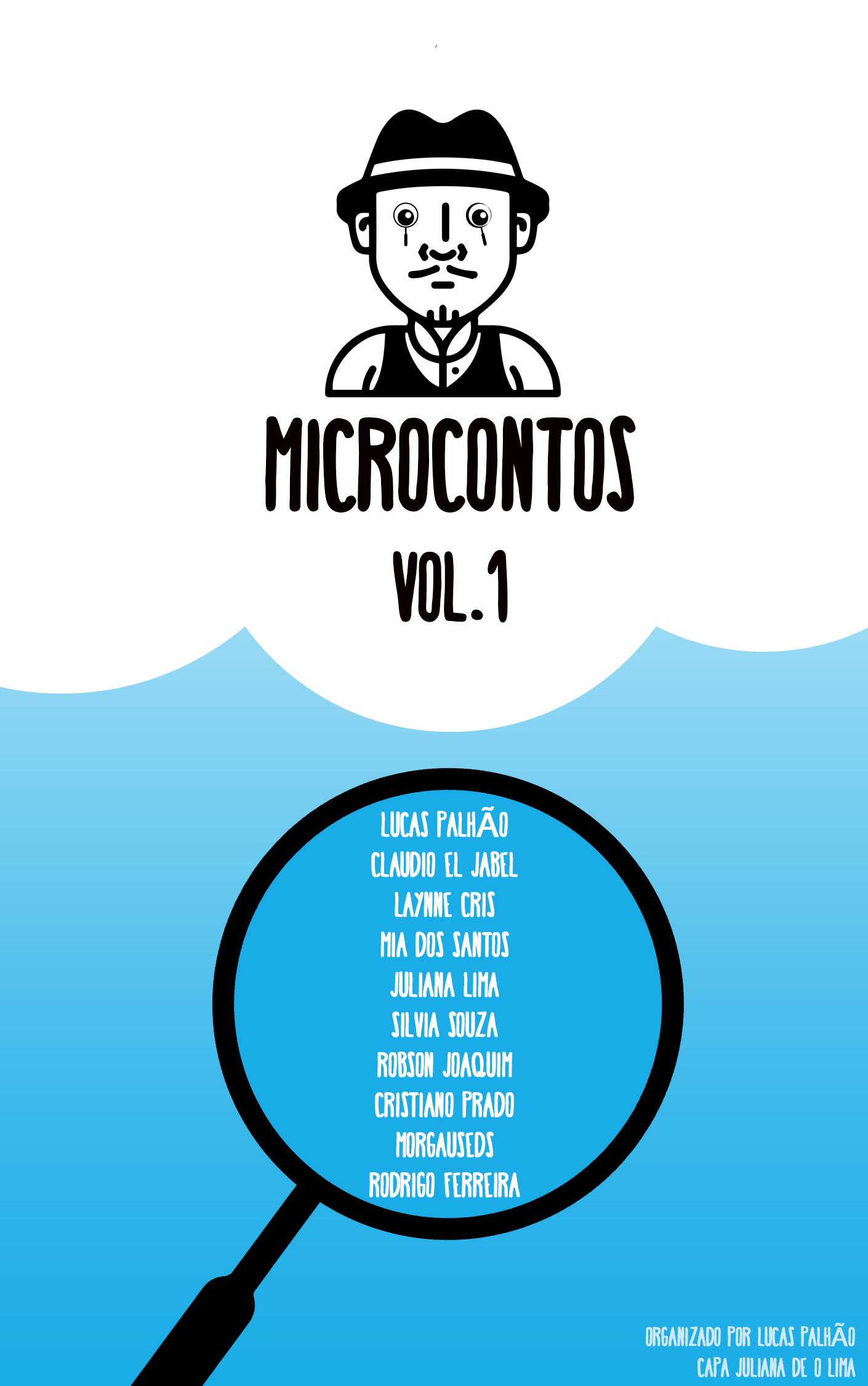 Capa da Antologia Microcontos Volume 1