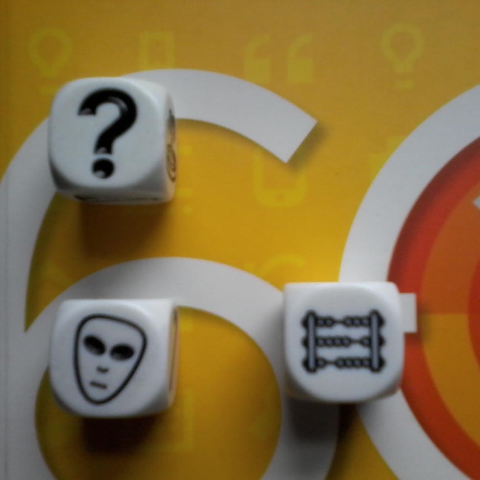 Interrogação, Máscara ou Álien, Ábaco